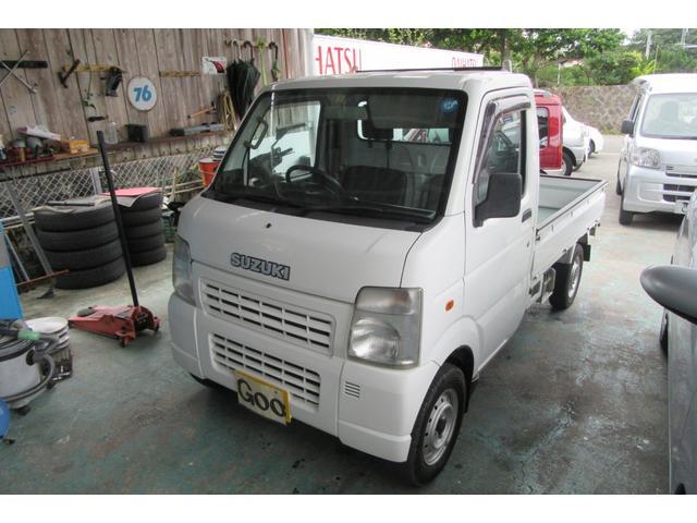 沖縄の中古車 スズキ キャリイトラック 車両価格 40万円 リ済込 平成20年 11.2万km ホワイト