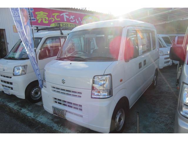 沖縄の中古車 スズキ エブリイ 車両価格 38万円 リ済込 2013(平成25)年 12.3万km ホワイト