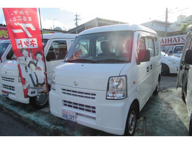 沖縄の中古車 スズキ エブリイ 車両価格 39万円 リ済込 2013(平成25)年 12.6万km ホワイト