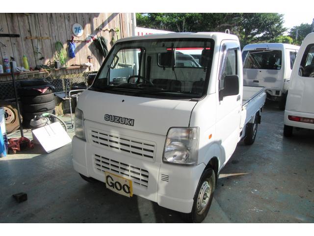 沖縄の中古車 スズキ キャリイトラック 車両価格 41万円 リ済込 2008(平成20)年 11.1万km ホワイト