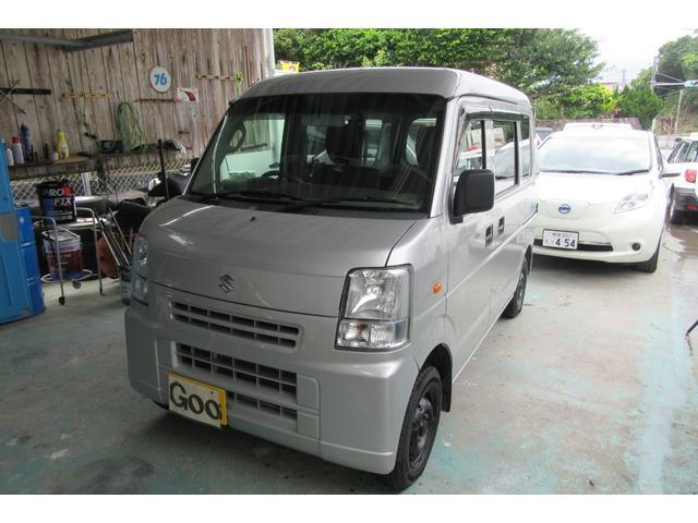 沖縄の中古車 スズキ エブリイ 車両価格 37万円 リ済込 2014(平成26)年 10.3万km ガンM