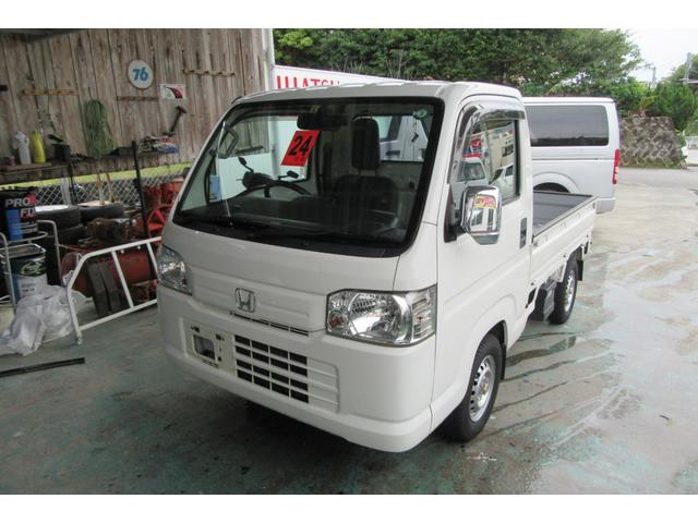 沖縄の中古車 ホンダ アクティトラック 車両価格 52万円 リ済込 2012(平成24)年 9.7万km ホワイト