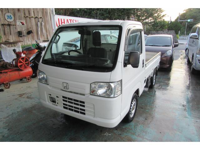 沖縄の中古車 ホンダ アクティトラック 車両価格 47万円 リ済込 2013(平成25)年 8.5万km ホワイト