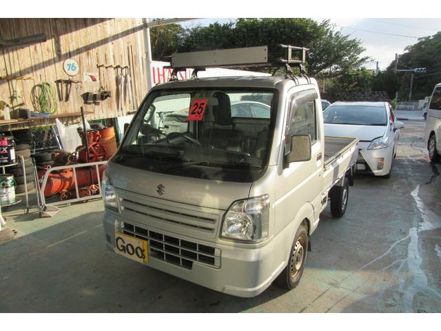 沖縄の中古車 スズキ キャリイトラック 車両価格 57万円 リ済込 2013(平成25)年 11.6万km グレー