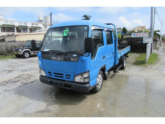 沖縄の中古車 いすゞ エルフトラック 車両価格 59万円 リ済込 2006(平成18)年 20.3万km ブルー