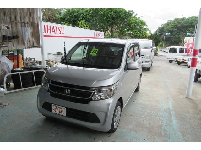 沖縄の中古車 ホンダ N-WGN 車両価格 49万円 リ済込 2014(平成26)年 10.6万km ガンM