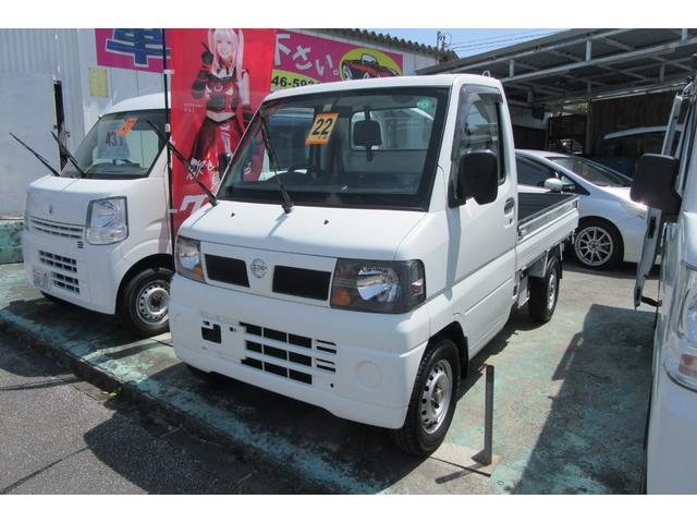 沖縄の中古車 日産 NT100クリッパートラック 車両価格 38万円 リ済込 2010(平成22)年 12.7万km ホワイト