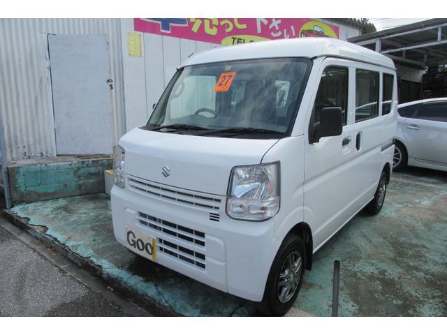 沖縄の中古車 スズキ エブリイ 車両価格 54万円 リ済込 2015(平成27)年 11.0万km ホワイト