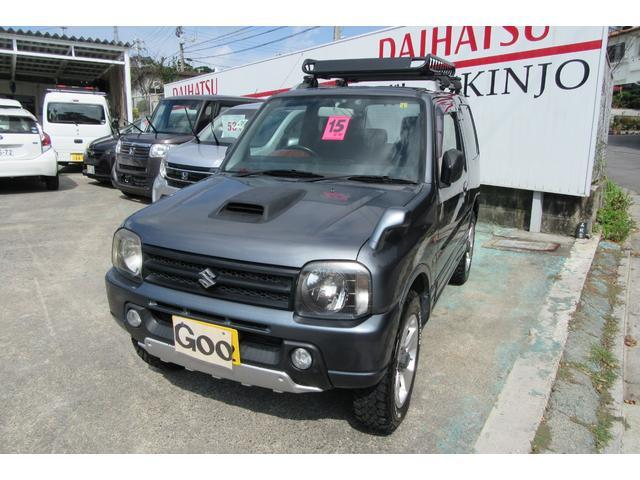沖縄の中古車 スズキ ジムニー 車両価格 67万円 リ済込 2015(平成27)年 19.2万km グリーンM
