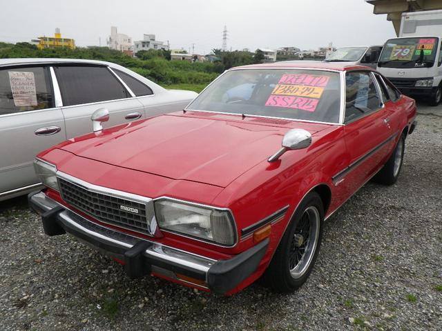 沖縄の中古車 マツダ コスモ 車両価格 ASK リ済込 昭和54年 9.5万km レッド