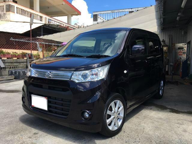 沖縄の中古車 スズキ ワゴンRスティングレー 車両価格 84万円 リ済込 平成25年 5.9万km ワイン
