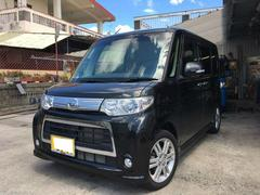 沖縄の中古車 ダイハツ タント 車両価格 98万円 リ済込 平成25年 2.0万K ブラックマイカメタリック