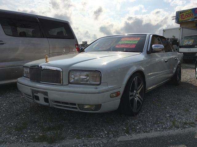 沖縄の中古車 日産 プレジデントJS 車両価格 59万円 リ済込 1995(平成7)年 7.6万km パール