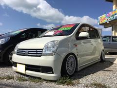 沖縄の中古車 ダイハツ ミラアヴィ 車両価格 36万円 リ済込 平成17年 14.9万K パールホワイトI