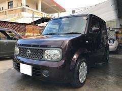 沖縄の中古車 日産 キューブ 車両価格 19万円 リ済込 平成20年 9.4万K ビターショコラP