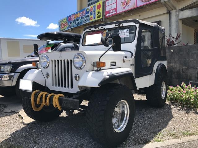沖縄の中古車 三菱 ジープ 車両価格 39万円 リ済込 1995(平成7)年 5.3万km ホワイト
