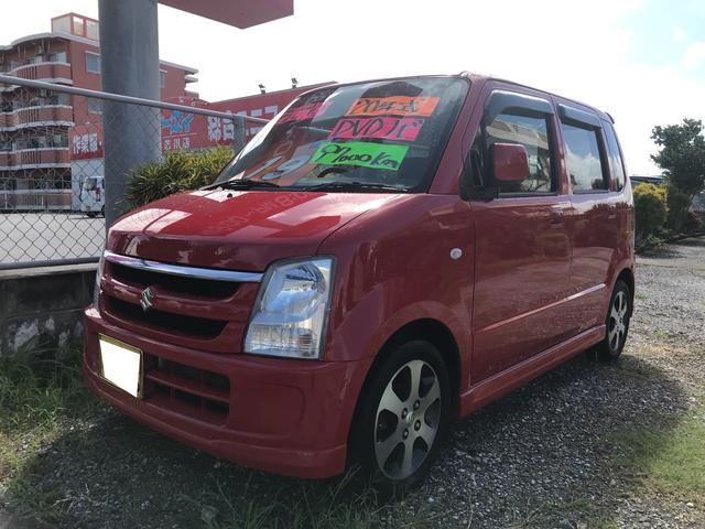 沖縄の中古車 スズキ ワゴンR 車両価格 19万円 リ済込 2008(平成20)年 9.7万km ブライトレッド2
