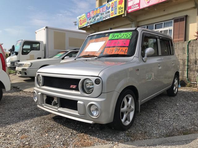 沖縄県うるま市の中古車ならアルトラパン SS ターボ AT
