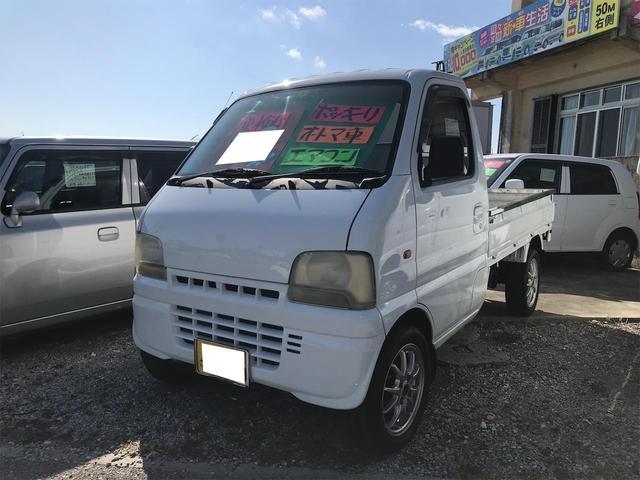 沖縄の中古車 スズキ キャリイトラック 車両価格 19万円 リ済込 2001(平成13)年 7.6万km ホワイト