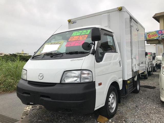 沖縄の中古車 マツダ ボンゴトラック 車両価格 49万円 リ済込 2008(平成20)年 21.0万km ホワイト
