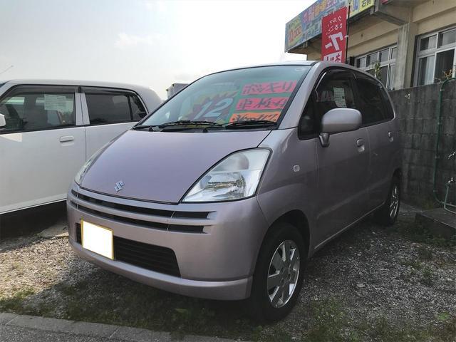 沖縄の中古車 スズキ MRワゴン 車両価格 11万円 リ済込 2004(平成16)年 11.5万km ラベンダーメタリック