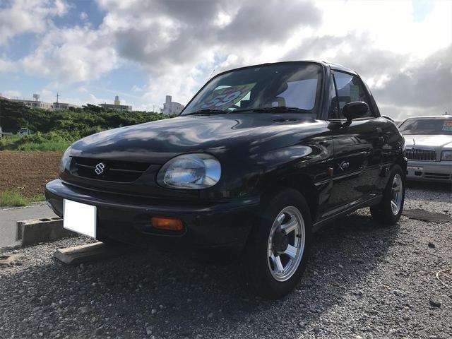 沖縄の中古車 スズキ X-90 車両価格 54万円 リ済込 1995(平成7)年 8.1万km サターンブラックメタリック