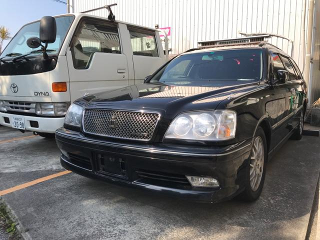 沖縄県の中古車ならクラウンエステート アスリート 霊柩車