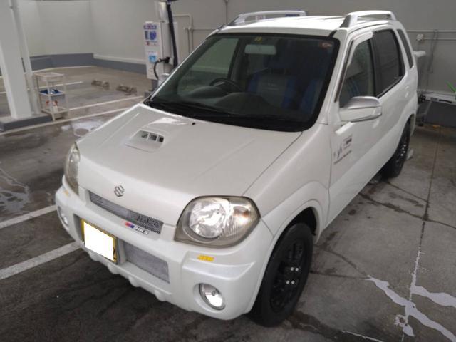 沖縄の中古車 スズキ Kei 車両価格 12万円 リ済込 2002(平成14)年 10.0万km パールホワイト