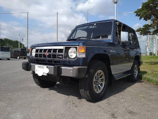 沖縄県の中古車ならパジェロ  インタークーラーターボ ディーゼル 4ナンバー登録
