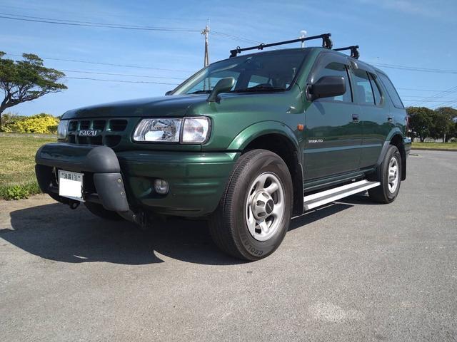 沖縄県うるま市の中古車ならウィザード  5MT ディーゼル 1ナンバー登録 パートタイム4WD 前後ドライブレコーダー ETC キーレス DVDビデオ