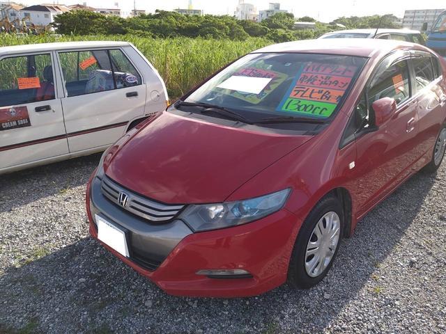 沖縄県の中古車ならインサイト G 純正ナビ TV バックカメラ ETC アイドリングストップ