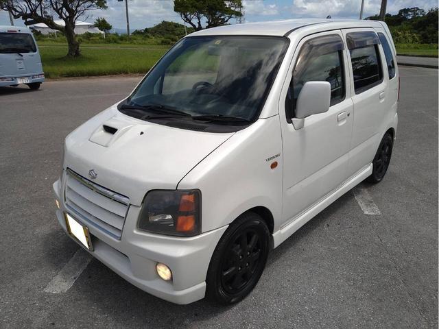 沖縄県うるま市の中古車ならワゴンR バージョンV インタークーラーターボ 新品バッテリー エンジンオイル交換済み ブレーキOH済み