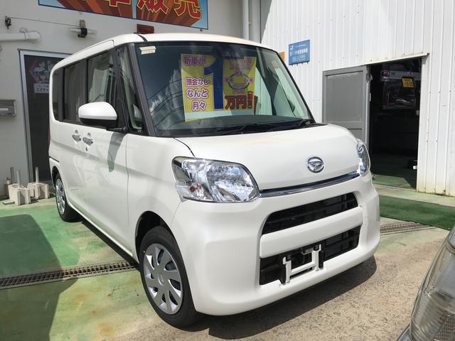 沖縄の中古車 ダイハツ タント 車両価格 ASK リ未 新車  パールホワイト
