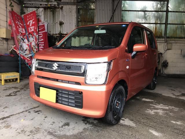 沖縄の中古車 スズキ ワゴンR 車両価格 130万円 リ済込 新車  オレンジ