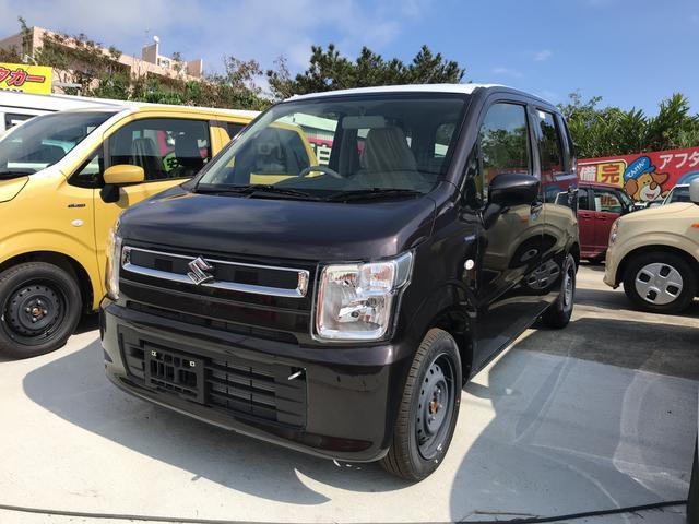 沖縄の中古車 スズキ ワゴンR 車両価格 ASK リ未 新車  ブラウン