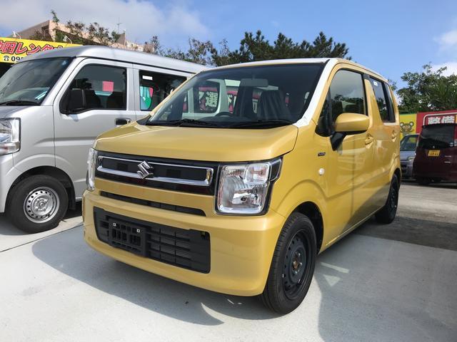 沖縄の中古車 スズキ ワゴンR 車両価格 ASK リ未 新車  イエロー