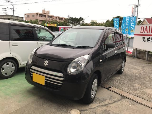 沖縄の中古車 スズキ アルトエコ 車両価格 40万円 リ済込 2014(平成26)年 8.1万km ブラウン