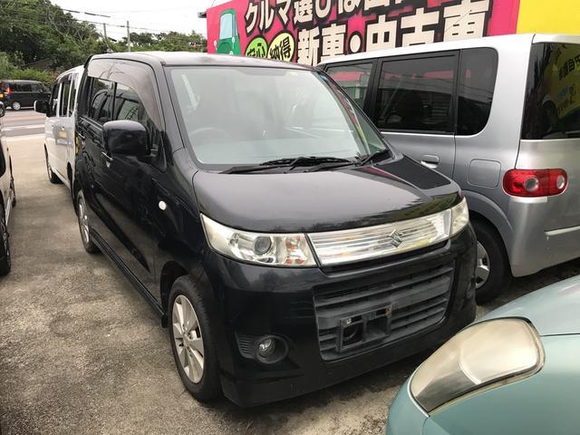 沖縄の中古車 スズキ ワゴンRスティングレー 車両価格 45万円 リ済込 2010(平成22)年 7.4万km ブラック