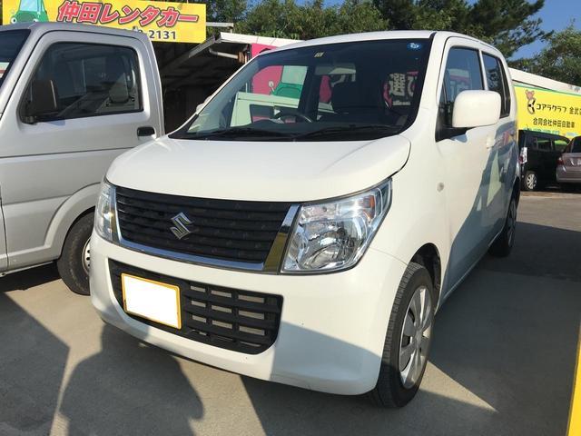 沖縄の中古車 スズキ ワゴンR 車両価格 59万円 リ済込 2016(平成28)年 4.8万km ホワイト