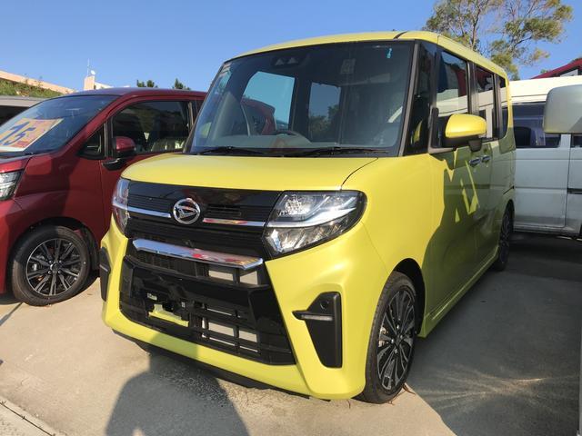 沖縄の中古車 ダイハツ タント 車両価格 ASK リ未 新車  イエロー