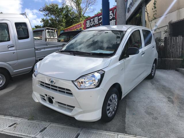 沖縄の中古車 ダイハツ ミライース 車両価格 ASK リ未 2019年 6km ホワイト