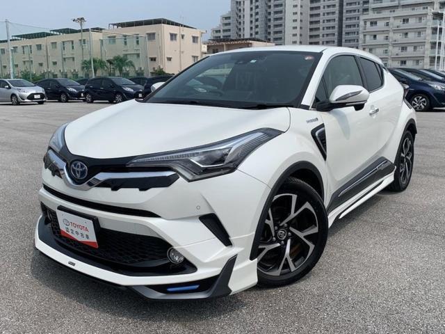 C-HR(沖縄 中古車) 色:パールホワイト 価格:236.5万円 年式:2017(平成29)年 走行距離:3.6万km