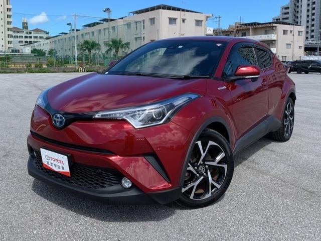 C-HR(沖縄 中古車) 色:センシュアルレッドマイカ 価格:227.7万円 年式:2017(平成29)年 走行距離:3.6万km