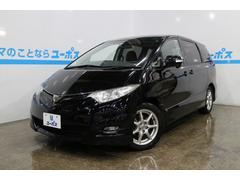 沖縄の中古車 トヨタ エスティマ 車両価格 97万円 リ済別 平成18年 7.9万K ブラック