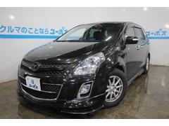 沖縄の中古車 マツダ MPV 車両価格 95万円 リ済別 平成23年 7.6万K スパークリングブラックマイカ