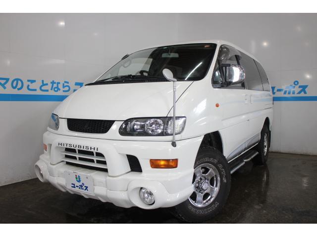 沖縄県の中古車ならデリカスペースギア シャモニー WEDS ADVENTURE15インチAW