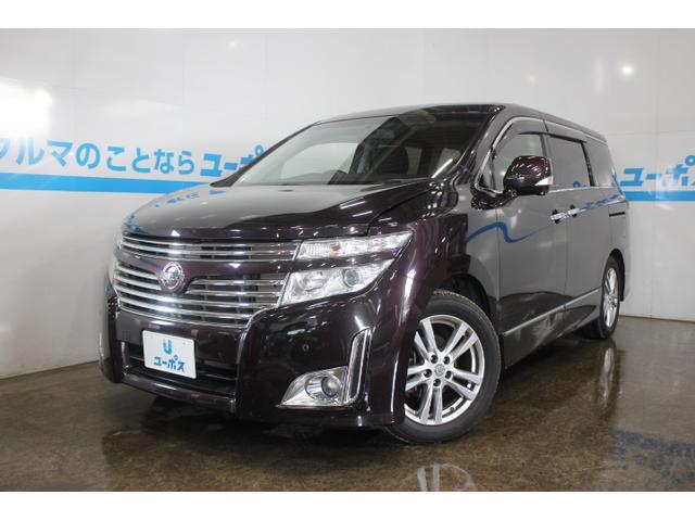 沖縄の中古車 日産 エルグランド 車両価格 149万円 リ済別 2010(平成22)年 7.3万km オーロラモーヴRP