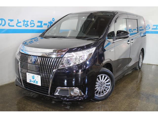 沖縄県の中古車ならエスクァイア ハイブリッドXi OP10年保証対象車フリップダウンモニター