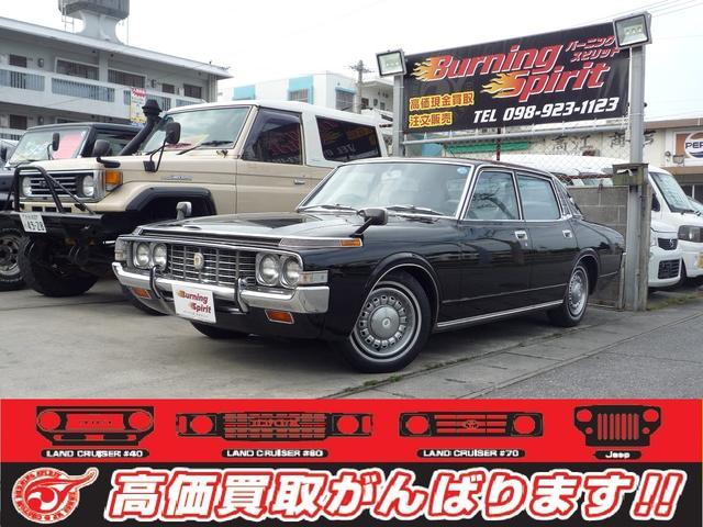 沖縄の中古車 トヨタ クラウン 車両価格 89万円 リ済別 1974(昭和49)年 走不明 ブラック
