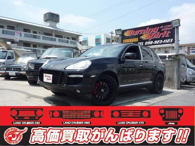 沖縄の中古車 ポルシェ ポルシェ カイエン 車両価格 ASK リ済別 2009年 17.3万km ブラック